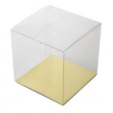 """Clear Cube Box - 2  3/4 x 2 3/4 x 3""""(ht)"""