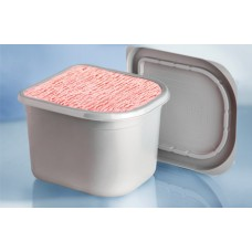 Rectangular Container Low Lid 2.5Lt