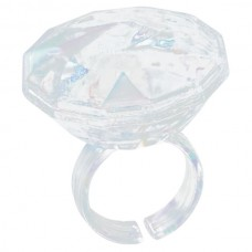 Large Fake Diamond Ring