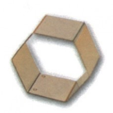 HEXAGONAL MOULD