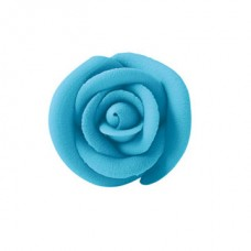 Royal Icing Roses - Large - Blue