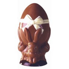 Bunny and Easter Egg Chocolate Mould