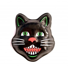SALE Small PopTop Black Cat Face