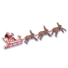 Sleigh with 6 Reindeers