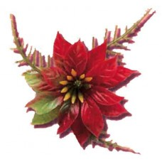 Poinsettia Corsage