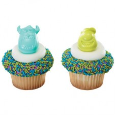 Monsters University Mike & Sulley Cupcake Rings