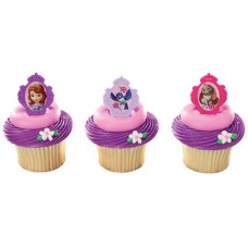 Sofia the First Sofia's Friends Cupcake Rings