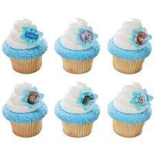 Disney Frozen Adventure Friends Cupcake Rings