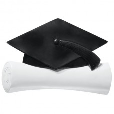 Graduation Hat and Diploma Layon