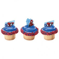 The Amazing Spider-Man 2 Web Slinger Cupcake Rings