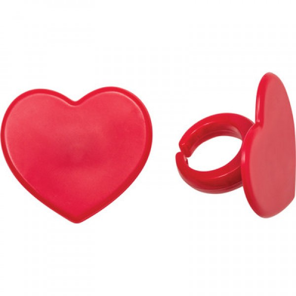 Red Heart Rings