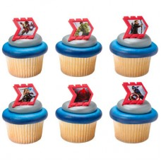 MARVEL Avengers Age of Ultron Reassemble Cupcake Rings