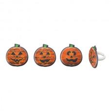 Chalk-O-Lantern Pumpkin Rings