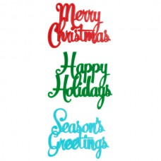 """Merry Christmas"", ""Happy Holidays"", ""Season's Greetings"" Layons"