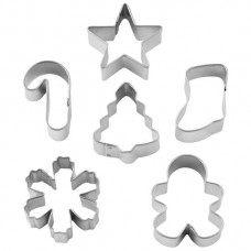 Mini Holiday Cookie Cutter Mix