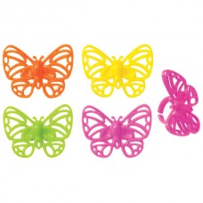 Bright Butterflies Rings