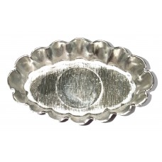 Wavy Oval Petit Four Mould 45mm