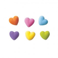 Multicolored Sugar Hearts