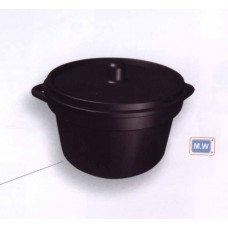 Casserole with cover 13d 70mm x 50mm ht
