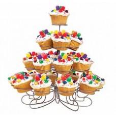 Standard cupcakes display