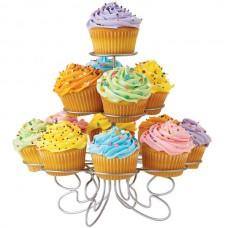 13 standard cupcakes display