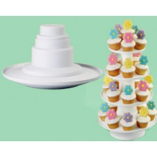 4 tiers cupcakes stand