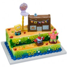 SpongeBob SquarePants Krusty Krab Signature Cake DecoSet®