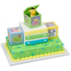 ABC Baby Blocks Signature Cake DecoSet®