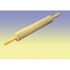 HEAVY BALL BEARING ROLLING PIN FLUTED PLASTIC