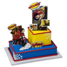 Ultimate Spider-Man Motorcycle Signature Cake DecoSet®