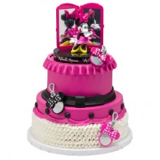 Minnie Mouse Bags, Bows & Shoes Signature Cake DecoSet®
