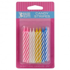 Candy Stripe Assorted Candle