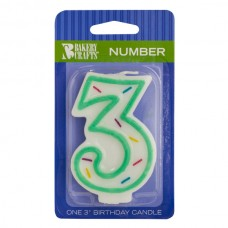 Green Line Candle #3