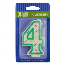 Green Line Candle #4