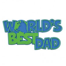 World's Best Dad Layon