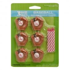 Baseball Candle