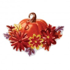 Pumpkin and Fall Flowers PopTop
