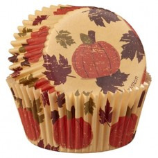 Fall Baking Paper Cups