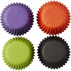 Mini Baking Cups Halloween Colours Mix