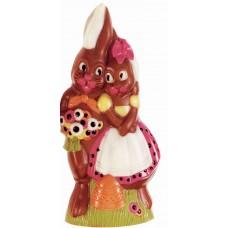 Boy and Girl Bunny Chocolate Mould