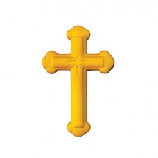Gold Sugar Ornate Cross