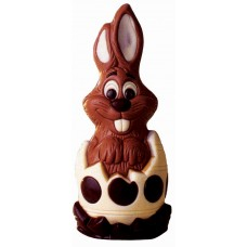 Bunny in an Easter Egg Chocolate Mould