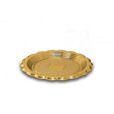 Gold Round Platter 15.5cm
