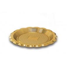 Gold Round Platter 18cm