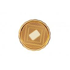 Gold Round Platter 26cm