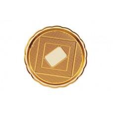 Gold Round Platter 36cm