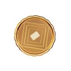 Gold Round Platter 38cm
