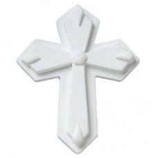 Classic White Gum Paste Cross