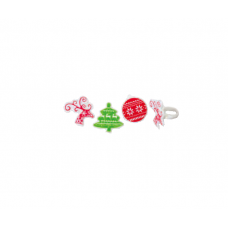 Christmas Tree, Reindeer, Christmas Ball Rings