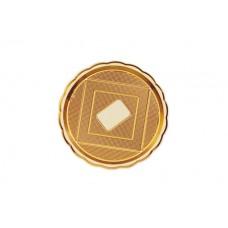 Gold Round Platter 30cm